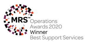 MRS Operations Awards Best Support Services Winner 2019