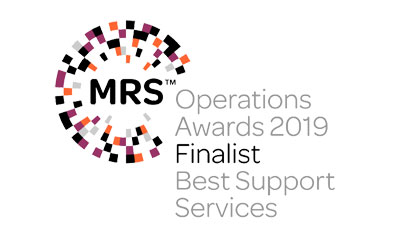 MRS Operations Awards Best Support Services Finalist 2019