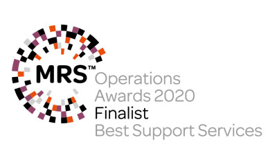 MRS Operations Awards Best Support Services Finalist 2020